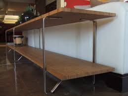 sofa table from salvaged ikea table legs ikea hackers ikea hackers