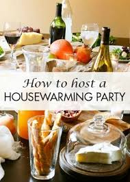 Our House Warming Party