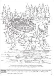 Story Of The Vikings Coloring Book Boost Series
