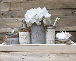 Cool And Opulent Rustic Bathroom Decor Etsy