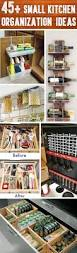 Kitchen Storage Ideas Pinterest by Best 25 Small Kitchen Organization Ideas On Pinterest Storage