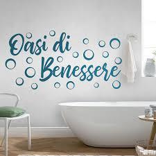 wandsticker bad wellness oase italienisch webwandtattoo