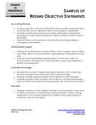 Resume Objective Sample For Fresh Graduate Samples In Freshersles Entry Level Warehouse Good Any Job Hrm