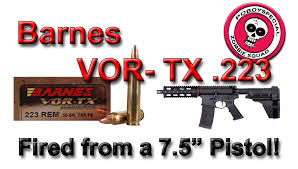 Barnes VOR- TX .223 FROM 7.5in. PDW - YouTube 223 556x45 Barnes Tipped Tsx Ballistic Tip Ammunition 20 Rounds Bullets 21520 55 20rds 300 Blk 110 Gr Tactx 2400 Fps 16 Barrelhttp Trajetech Rem 55gr N223b55 Woodbury Outfitters Cfe223 1st Test Range Report The Firing Line Forums Gelatin Data For And 556 Winchester Pdx1 60 Grain Split Core Hollow Remington Black Hills 200 Rounds Of Discount Ammo For Sale By Vortx Hog Hunter 308 168 Ttsx In 243 Shooters Forum