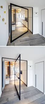 This Glass Pivot Door Has A Unique Central Pivoting Hinge That ... Internal Glass Partion Between Basement And Gym By Iq Www Interior Room Partion Design With Partions For Home Bathroom Creative Office Design With Wood Trim Glass Wall Medium 80 X Pixel This Is A Great Way To Use Shelving Make Viding At Its Best Co Lapine Designco Design Best Shower 29 Addition New Small Ideas Walk In Door Opposite Sliding Dividers Ikea Also Northeast Nj Florian Service