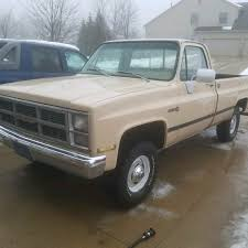 100 1984 Gmc Truck GMC Sierra 350 4x4 4spd