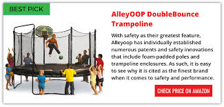 Alleyoop Trampoline Reviews - DoubleBounce With Safety Enclosure Skywalker Trampoline Reviews Pics With Awesome Backyard Pro Best Trampolines For 2018 Trampolinestodaycom Alleyoop Dblebounce Safety Enclosure The Site Images On Wonderful Buying Guide Trampolizing Top Pure Fun Of 2017 Bndstrampoline Brands Durabounce 12 Ft With 12ft Top 27 Reviewed Squirrels Jumping Image Excellent