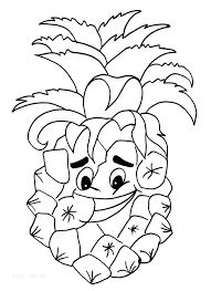 Spongebobs Pineapple House Coloring Pages Page Printable For Kids