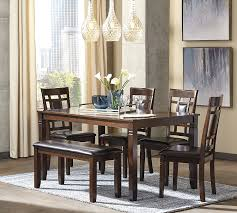 Amazon.com - 6 PC Barnnox Casual Brown Color Dining Room ...