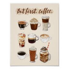 But First Coffee Poster