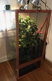 100 Chameleon House My Homemade Chameleon Cage DIY Reptile Vivarium Terrarium