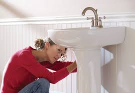 Kohler Pedestal Sink Mounting Bracket by How To Install A Pedestal Sink At The Home Depot