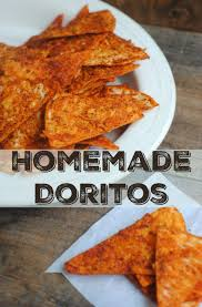 Homemade Doritos Style Chips