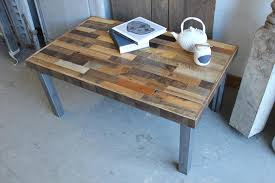 Reshaped Pallet Coffee Table