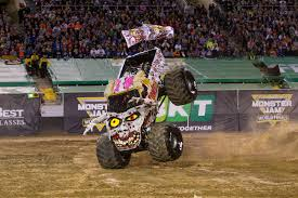 100 Monster Trucks Cleveland Ocoees Bari Musawwir Living Lifelong Dream As Jam Driver