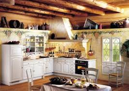 Modern Italian Country Kitchen Design Style On Decor