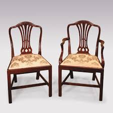 12 Single & 2 Arm Late 19th Century Hepplewhite Style Camelback Dining  Chairs 4 Hepplewhite Style Mahogany Yellow Floral Upholstered Ding Chairs Style Ding Table And Chairs Pair George Iii Mahogany Armchairs Antique Set Of 8 English Georgian 12 19th Century Elegant Mellow Edwardian Design Antiques World 79 Off Wood Hogan Side Chair Eight Late 18th Of