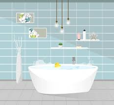 badezimmer interieur vektor illustration 363500