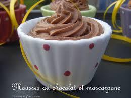 mascarpone recette dessert rapide mousses au chocolat noir et mascarpone la cuisine des p tites