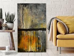 moderne malerei abstraktes wandbild acryl gemälde gewitter unikat 198