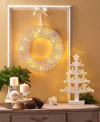 Lighted Winter White Holiday Decor