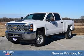 100 4wd Truck New 2019 Chevrolet Silverado 2500HD Work Crew Cab In Wahoo