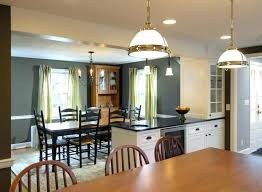 Dining Room Remodel Traditional Kitchen Remove Wall Between Rooms To Create