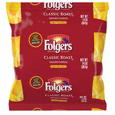 Folgers Classic Roast Ground Coffee Filter Pack Caffeinated