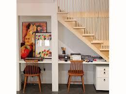sous bureau bureau sous escalier stairs small spaces