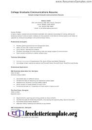 Student Resume Builder College Example Examples And Free