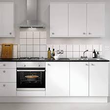 kinlo aufkleber küchenschränke weiß 2 stk 60x500cm 6