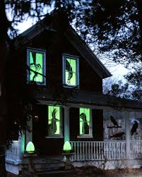 Motion Activated Outdoor Halloween Decorations by Outdoor Halloween Lights Sacharoff Decoration