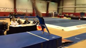 Usag Level 3 Floor Routine Tutorial by Miranda Troilo 2014 Level 3 Nj State Championships Vault 1