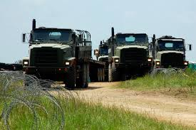 100 International Military Trucks Medium Tactical Vehicle Replacement MTVR Com