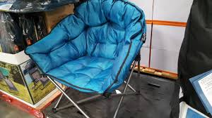 100 Oversized Padded Folding Chairs COSTCO Extra Club Chair 37 Super Comfort Kinda Big YouTube