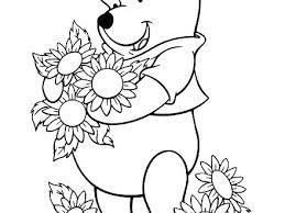 Sunflower Coloring Pages Van Google Search Adult Simple