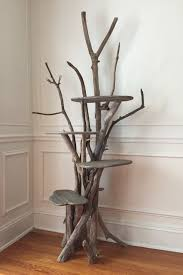 Driftwood Christmas Trees Nz by Large Driftwood Cat Climbing Tree Handmade From Reclaimed