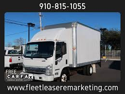 2008 Used Isuzu NPR Box Truck 14 Ft Box Truck With Liftgate At Fleet ...