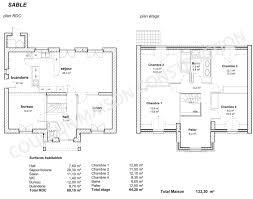 plan maison 150m2 4 chambres construction maison 4 chambres menuiserie
