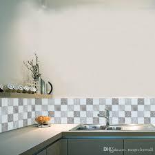 großhandel europäischen stil fliesen dekorative wandaufkleber badezimmer küche zimmer wasserdichte wanddekor wand poster kunst simulation fliesen