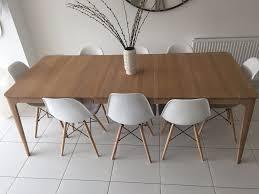 John Lewis Mira 6 8 Seater Extending Dining Table