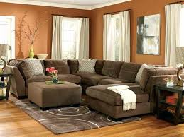 Dark Brown Leather Couch Living Room Ideas by Stupendous Brown Sectional Living Room Lovable Dark Brown