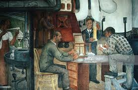 Coit Tower Murals Wpa by Wpa Mural At Coit Tower Telegraph Hill Stock Photo Getty Images