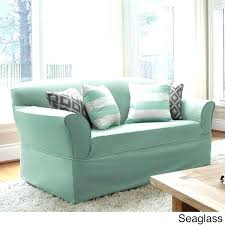 Recliner Sofa Slipcovers Walmart by Slipcover For Dual Reclining Sofa Cover Shabby Cottage Linen