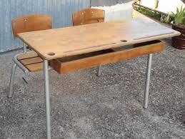 bureau ecolier bureau écolier 2 places vintage les vieilles choses