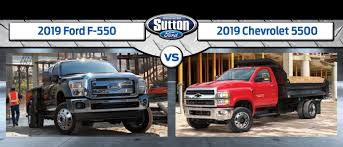 100 Diesel Truck Vs Gas 2019 Ford F550 Vs 2019 Chevrolet 5500 Which Commercial