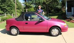1993 GEO METRO Convertible Car Review - Used Cars - MYSTIC MAGENTA ... 1997 Geo Metro 2 Dr Lsi Hatchback Pinterest Hatchbacks 1993 Std Junkyard Find 1990 Metroamino Pickup The Truth About Cars Robertwb70 With Aeromods For Better Fuel Efficiency Lifted Dodge Ram Vs Youtube Project Off Road Sale Stkr7547 Augator Sacramento Ca Ugadawgsfan1 1996 Metrosedan 4d Specs Photos Modification Ute Found On Craigslist Atbge Truck Cargods Price Modifications Pictures Moibibiki