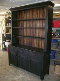 Replace The Back Of Any Piece Furniture With Weathered Or Treated Wood