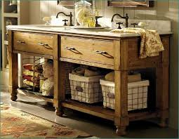 Country Style Bathroom Brilliant Vanities With Regard To