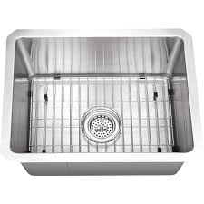Did Hard Merchandise Sinks by Platinum Sinks 20 X 15 16 Gauge Single Bowl Stainless Steel